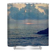 To The Ends Of The Earth Shower Curtain by Laurie Search