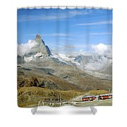 To The Summit Shower Curtain