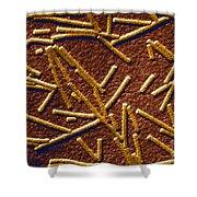 Tobacco Mosaic Virus Shower Curtain