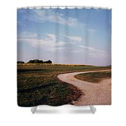 Tobacco Road Shower Curtain