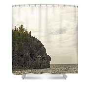 Tobermory Caves Shower Curtain