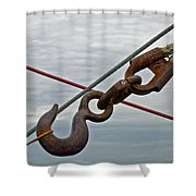Together We Are An Ocean Shower Curtain