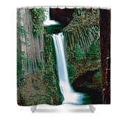 Toketee Falls Shower Curtain