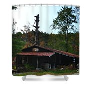 Toll Gate House Shower Curtain