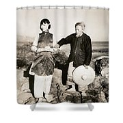 Toll Of The Sea, 1922 Shower Curtain