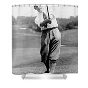 Tom Armour Wins Us Golf Title - C 1927 Shower Curtain