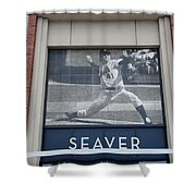 Tom Seaver 41 Shower Curtain