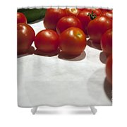 Tomato And Cucumber 1 Shower Curtain