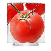 Tomato's Shower Curtain