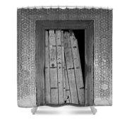 Tomb Door Shower Curtain