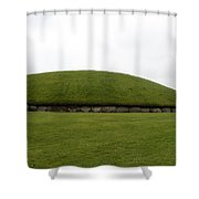 Tomb Group - Knowth - Ireland Shower Curtain