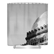 Tomb In India Shower Curtain