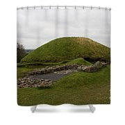 Tomb - Knowth - Ireland Shower Curtain