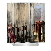 Tomb Of Famille Perrault Shower Curtain