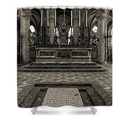 Tomb Of William The Conqueror Shower Curtain