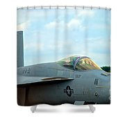 Tomcatters On Tarmac 2 Shower Curtain