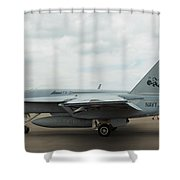 Tomcatters On Tarmac 4 Shower Curtain