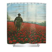 Tommy 2 Shower Curtain