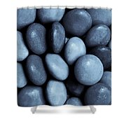 Toned Abstract Art  Shower Curtain