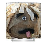 Tongue  Tie Scarecrow Affair Shower Curtain