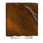 Tongues Of Fire Shower Curtain