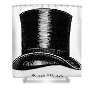 Top Hat, 1900 Shower Curtain