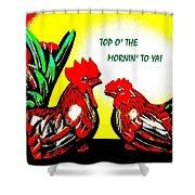 Top O' The Mornin' To Ya Shower Curtain