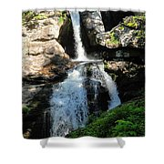 Top Of Kent Falls Shower Curtain
