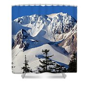 Top Of Mt. Hood Shower Curtain