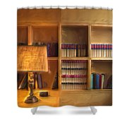Top Pot's Library Shower Curtain
