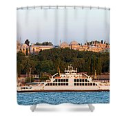 Topkapi Palace In Istanbul Shower Curtain