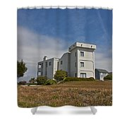 Topsail Island Observation Tower 1 Shower Curtain