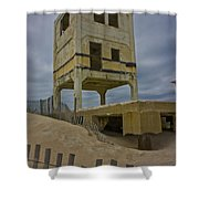 Topsail Island Observation Tower 6 Shower Curtain