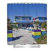 Topsail Island Patio Playground Shower Curtain