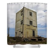 Topsail Island Tower 3 Shower Curtain