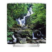 Torc Waterfall, Killarney National Shower Curtain