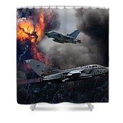 Tornado Gr4 Attack Shower Curtain