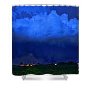 Tornado Over Madison 4 Shower Curtain