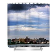 Tornado Over The Capitol Shower Curtain