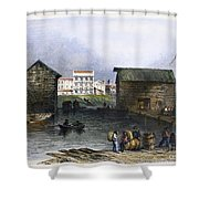 Toronto, Canada, C1842 Shower Curtain
