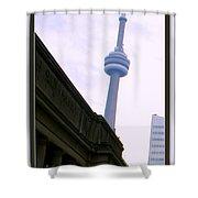 Toronto Cn Tower Canada Shower Curtain