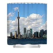 Toronto Skyline 10 Shower Curtain