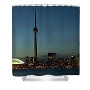 Toronto Skyline, Toronto, Ontario Shower Curtain