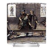 Torture, 16th Century Shower Curtain
