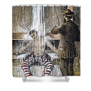 Torture At Sing Sing C1869 Shower Curtain by Granger
