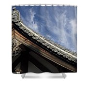 Toshodai-ji Temple Roof Gargoyle - Nara Japan Shower Curtain