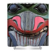 Totem Pole 12 Shower Curtain