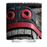 Totem Pole 13 Shower Curtain