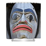 Totem Pole 15 Shower Curtain