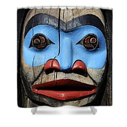 Totem Pole 3 Shower Curtain